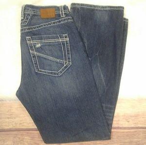 [BKE]Tyler Distressed Jeans Straight Leg Size 33L